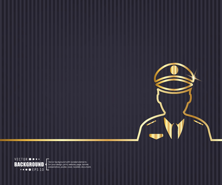 patrol: Abstract Creative concept vector background for Web and Mobile Applications, Illustration template design, business infographic, page, brochure, banner, presentation, booklet, document.