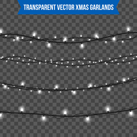 추상 크리 에이 티브 크리스마스 화 환 빛 배경에 고립입니다. 주형. 벡터 일러스트 클립 아트 아트 크리스마스 휴일 장식입니다. 개념 아이디어 디자 일러스트
