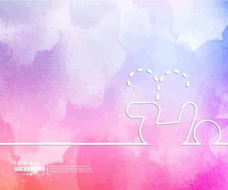urination: Abstract Creative concept vector background for Web and Mobile Applications, Illustration template design, business infographic, page, brochure, banner, presentation, booklet, document.