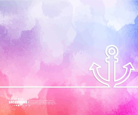 navy pier: Abstract Creative concept vector background for Web and Mobile Applications, Illustration template design, business infographic, page, brochure, banner, presentation, booklet, document.