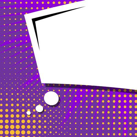 popart: Abstract creative concept vector comic pop art style blank, layout template with clouds beams and isolated dots background.