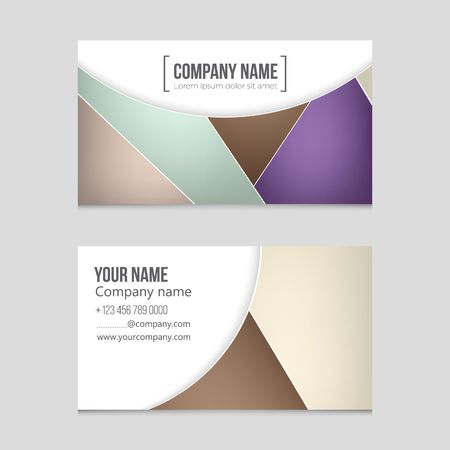 Corporate concept presentation of a vector layout background set. For art template design, list, front page, mockup brochure theme style.