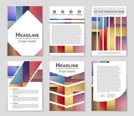 A voucher presentation of design for theme  booklet. Illustration