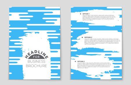 A leaflet presentation of design for theme of an ad. Illustration