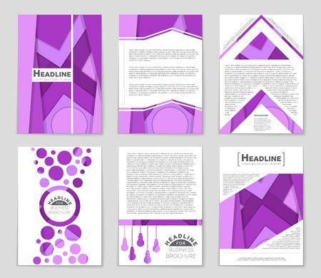 bauhaus: A cool freehand concept of a list. Illustration