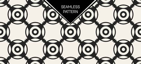 Abstract concept vector monochrome geometric pattern. Black and white minimal background. Creative illustration template. Seamless stylish texture. For wallpaper, surface, web design, textile, decor. Stock Vector - 82105845