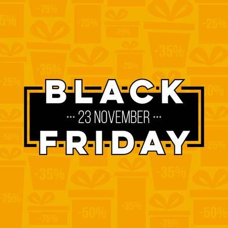 抽象的なベクトル黒い金曜日販売レイアウト背景アート テンプレート デザイン。 写真素材 - 87357796