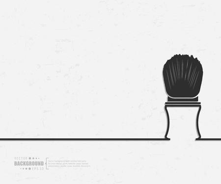 Abstract creative concept vector line draw background for web, mobile app, illustration template design, business infographic, page, brochure, banner, presentation, poster, cover booklet document Ilustração