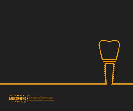 Dessin de ligne de vecteur de concept créatif abstrait arrière-plan pour le web, application mobile, conception de modèle d'illustration, infographie d'entreprise, page, brochure, bannière, présentation, affiche, document de livret de couverture Vecteurs