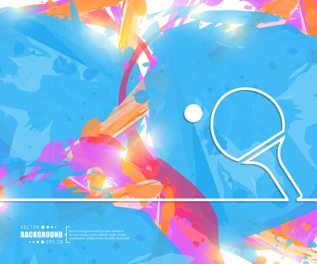 Abstract creative concept vector line draw background for web, mobile app, illustration template design, business infographic, page, brochure, banner, presentation, poster, cover booklet document Illustration