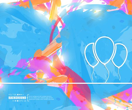 Abstract creative concept vector line draw background for web, mobile app, illustration template design, business infographic, page, brochure, banner, presentation, poster, cover booklet document  イラスト・ベクター素材