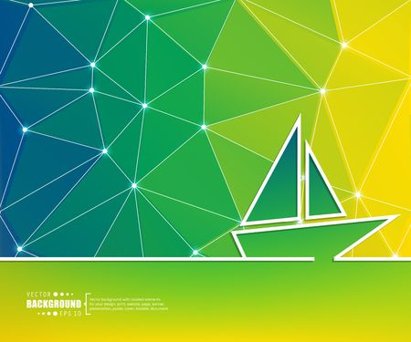 Abstract creative concept vector line draw background for web, mobile app, illustration template design, business infographic, page, brochure, banner, presentation, poster, cover, booklet, document