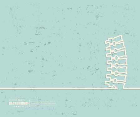 Abstraktes kreatives Konzeptvektorlinie zeichnen Hintergrund für Web, mobile App, Illustrationsschablonendesign, Geschäftsinfografik, Seite, Broschüre, Fahne, Präsentation, Plakat, Abdeckungsbroschüredokument