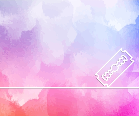 Abstract creative concept line draw background for web, mobile app, illustration template design, business infographic, page, brochure, banner, presentation, poster, cover booklet document