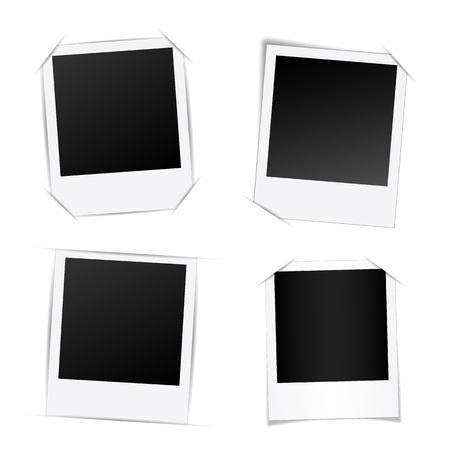 Abstracte creatieve fotolijstjes. Voor web- en mobiele app, illustratiesjabloonontwerp, zakelijke infographic, brochure, banner, presentatie, kunstposter, omslag, boekje printdocument Stockfoto
