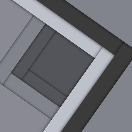 Minimaler geometrischer bunter Hintergrund. Kreatives Materialdesign des abstrakten Konzepts. Für Web, Handy, App, moderne Vorlage, Präsentation, Geschäft, Poster, Broschüre, Werbung, Cartoon-Kindertapete.
