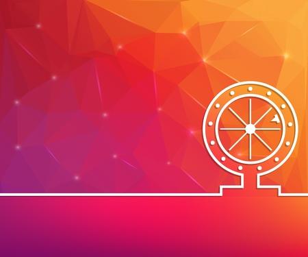 Astratto concetto creativo linea disegnare sfondo per web, app mobile, design modello illustrazione, infografica aziendale, pagina, brochure, banner, presentazione, poster, copertina, opuscolo, documento