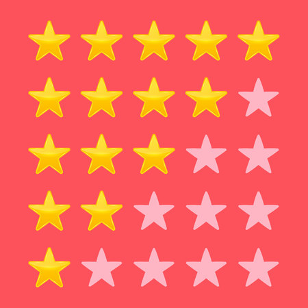 Creative illustration of star rating. Vote like ranking art design. Abstract concept graphic element. Choice rate. Infographic classification. Reklamní fotografie - 121105093