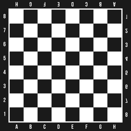 Kreative Illustration des Schachbrettsatzes lokalisiert auf Hintergrund. Kunstdesign kariert, Schachbrett, Schachbrett, Flugzeuge. Grafikelement des abstrakten Konzepts. Standard-Bild