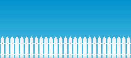 Creative illustration of rural wooden fences, pickets isolated on background. Art design. Garden silhouettes wall. Abstract concept graphic element.