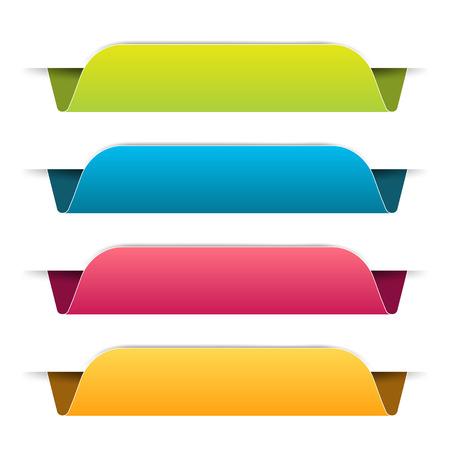 Illustration créative de l'étape du modèle d'infographie isolée sur fond. Conception d'art. Concept abstrait affaires, éducation, web, flyers, bannières, élément graphique de brochures. Banque d'images