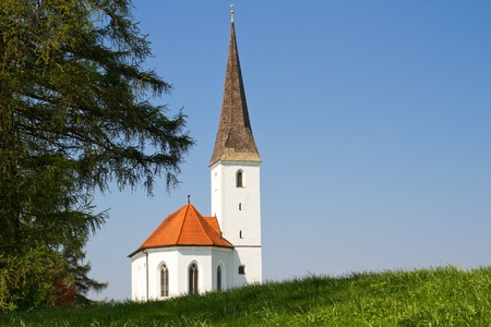 quietness: Typical small church in Bavaria