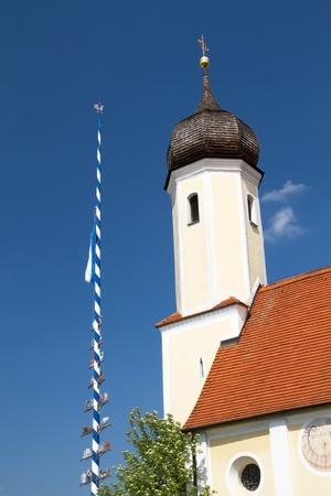 maypole: Bavarian Maypole