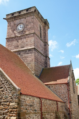 Historic anglican church of St. Helier, Jersey, UK photo