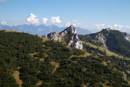 Hiking in the bavarian alps, Germany Stock Photo - 10791329