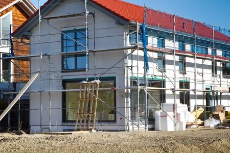 Bouwplaats op het platteland van Beieren, Duitsland Stockfoto - 11173013