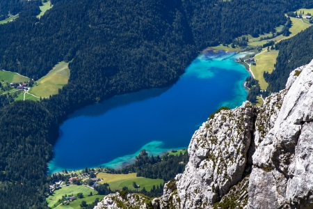 Lake  Hintersteiner See  in Austria photo