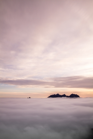 Sunrise in the Austrian Alps, Europe Stock Photo - 15814589