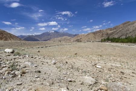 Mountain landscape in Ladakh, India photo