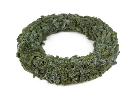 advent wreath: Advent wreath without candles and decoration