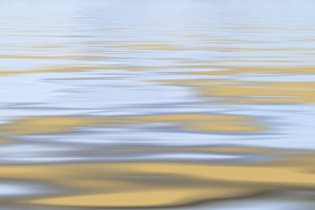 Ochre and grey tranquil sea background photo