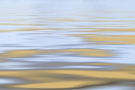 ochre: Ochre and grey tranquil sea background Stock Photo
