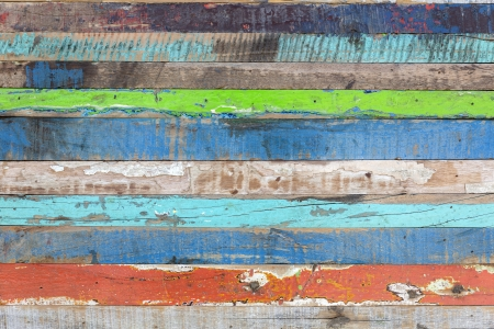spall: Painted weathered wood as background
