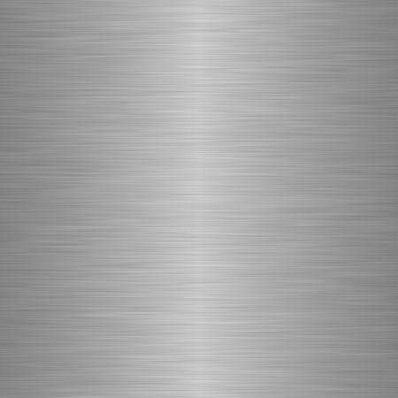 Geborsteld staal of metaal als achtergrond Stockfoto