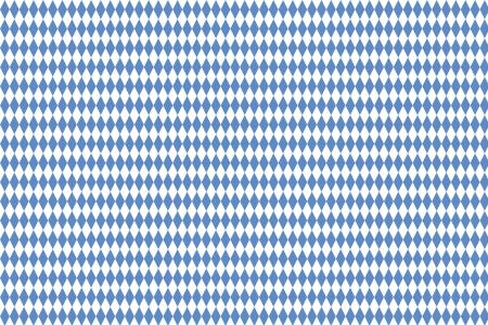 Typical Bavarian diamond pattern as background photo