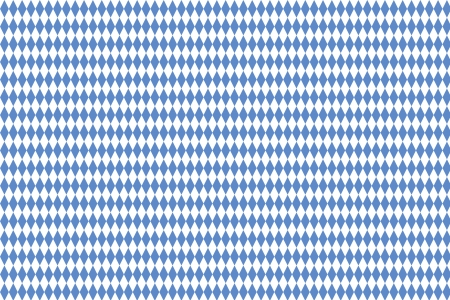 typical: Typical Bavarian diamond pattern as background Stock Photo