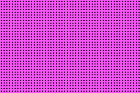 Small black dots on pink background photo