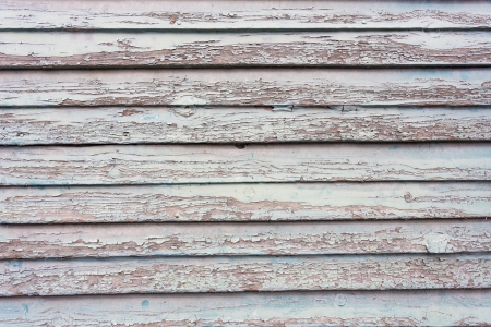 spall: Weathered painted wood as background