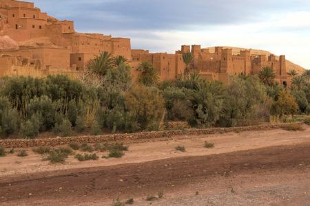marocco: Ait Benhaddou, Morocco, in evening light