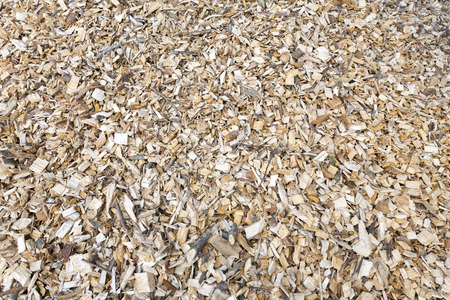 wood heating: Wood chips for heating