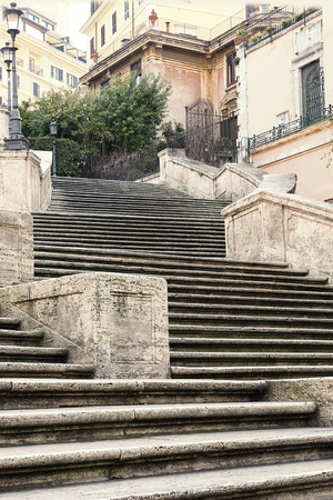 The Spanish Steps in Rome, Italy photo