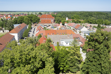 east germany: The historic old town of Templin East Germany