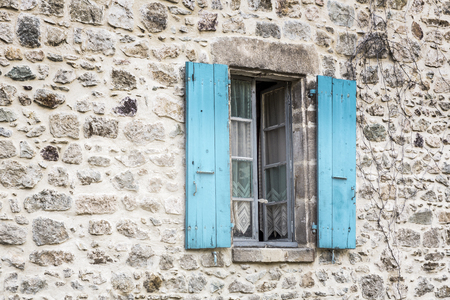 residential home: Window on a residential home in France Stock Photo