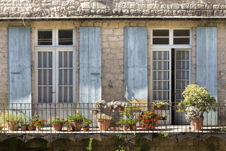 residential home: Balcony on a residential home in France