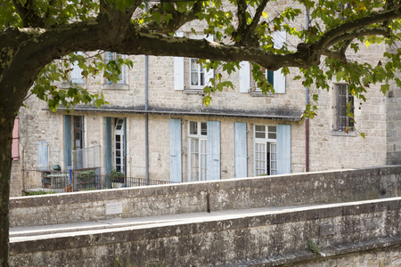 residential home: Typical residential home in South France, Europe