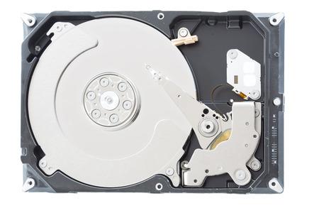 harddisk: Computer harddisk drive closeup